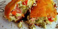 Torta de legumes deliciosa e fácil de fazer