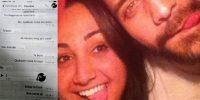 Caroline e Fernando: caso levanta a polêmica sobre legalização do aborto