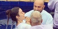 Thaila Ayala batizado