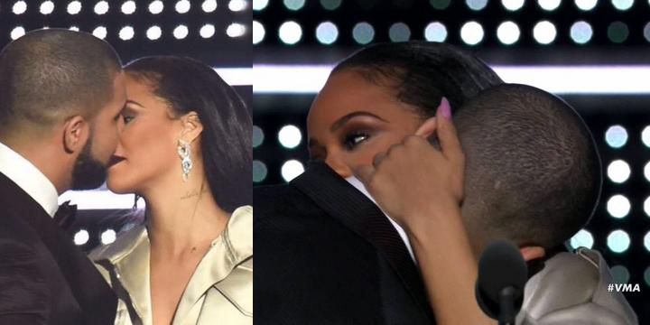 Drake se declara à Rihanna em premiação da MTV