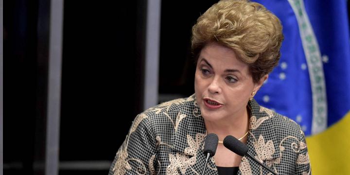 Dilma em seu julgamento final
