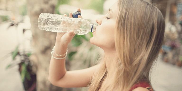 Destaque Tomar água