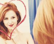 Destaque amar a si mesma