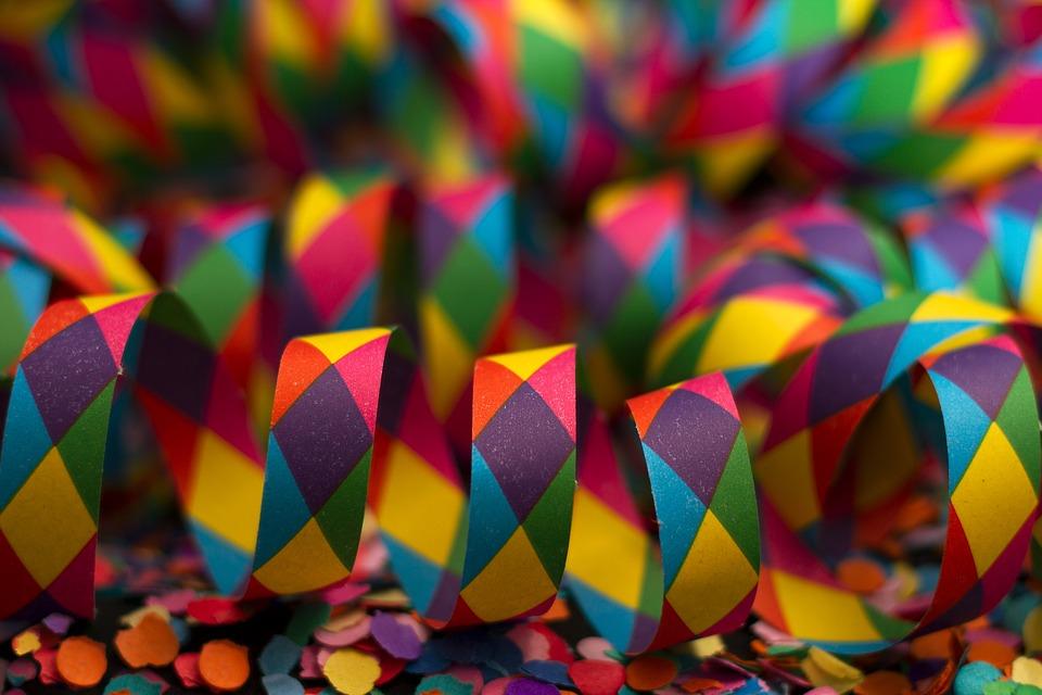 DIY: Decoração de carnaval