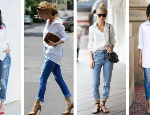 5 possibilidades de looks com uma camiseta branca