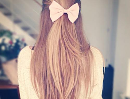 Aprenda como usar a tendência de laço de fita no cabelo